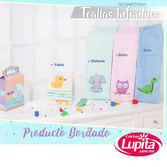 BUHO TOALLA BABY INFANTIL (Primavera-Competition)
